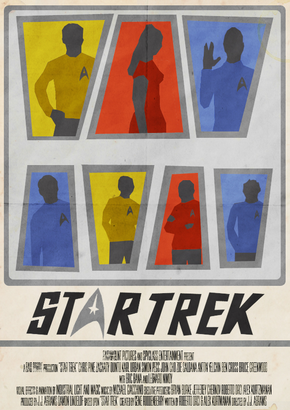 Star Trek Poster by W0op-W0op