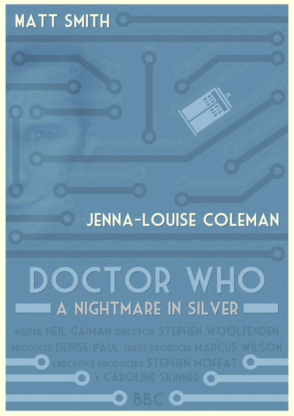 Doctor Who: A Nightmare in Silver Poster by W0op-W0op