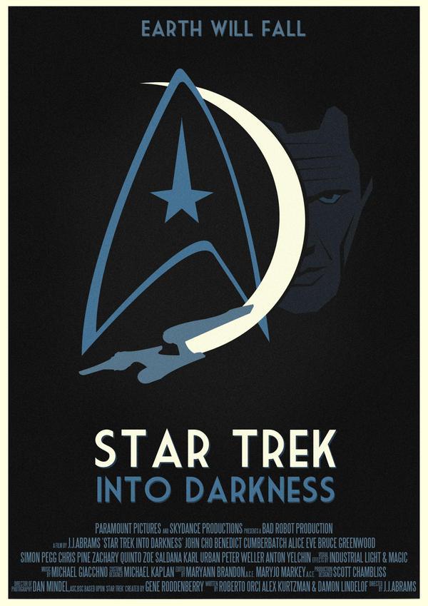 Star Trek Into Darkness Poster by W0op-W0op