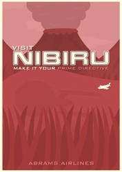 Nibiru Travel Poster