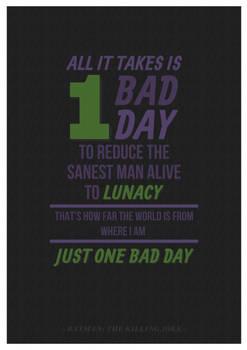 Batman: The Killing Joke - One Bad Day...