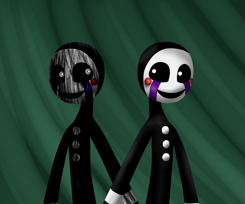 Double puppet fnaf 3 by queenofavalar on deviantart