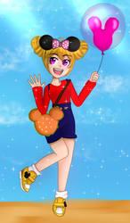 Sara's Birthday - Tokyo Disneyland