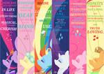 Mane Six Bookmark Pack