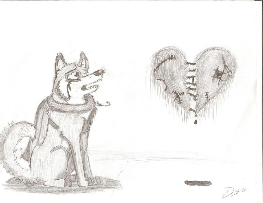Superior A Very Sad Wolf By DarkestSoul13 ...