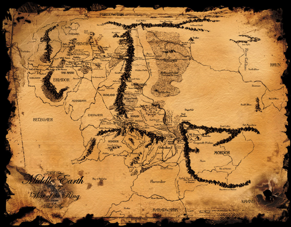 Maps Update 32002400 Best Map of Middle Earth Map of Middle – Lord of the Rings Map of Middle Earth