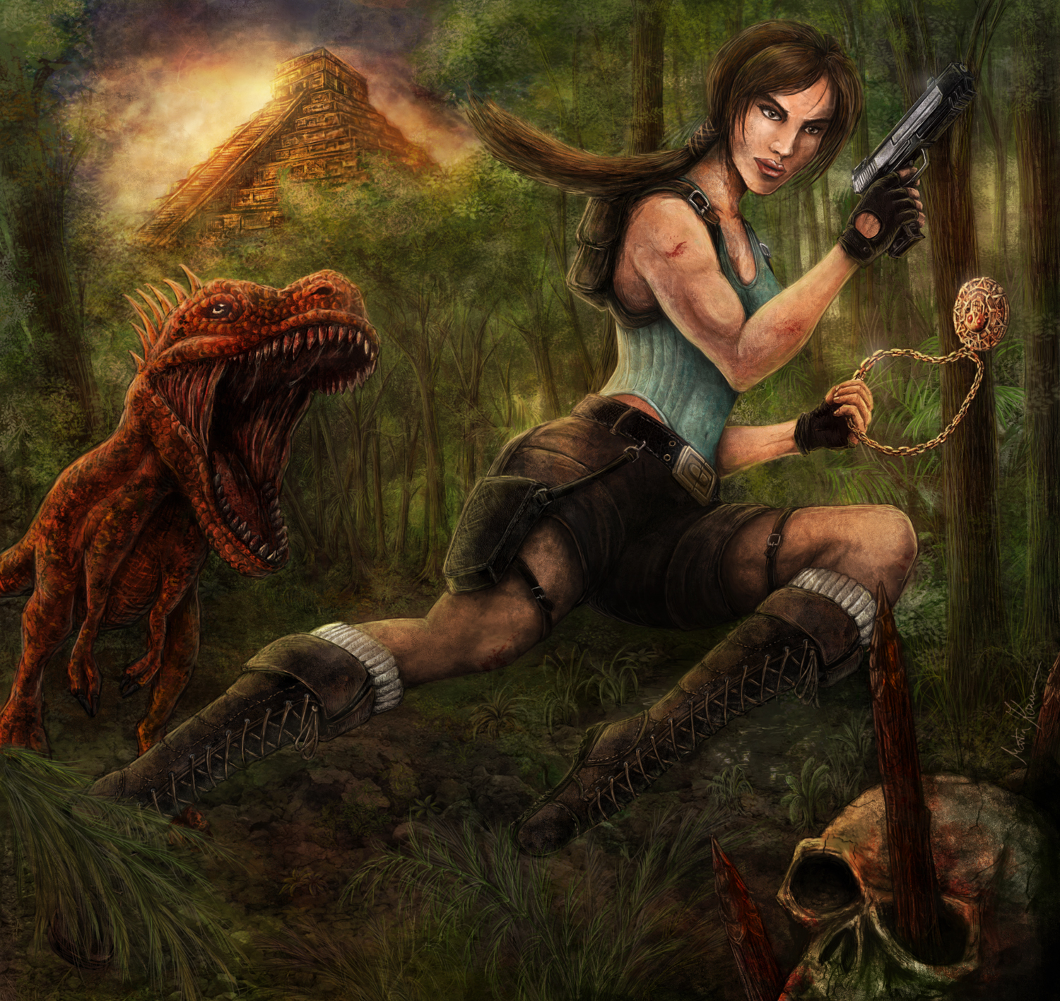 Lara Croft - Tomb Raider by mkozmon