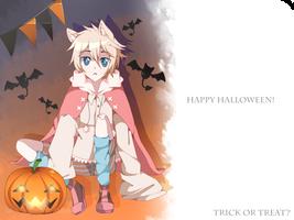 Secret halloween exchange art by SeiKune