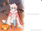 Secret halloween exchange art