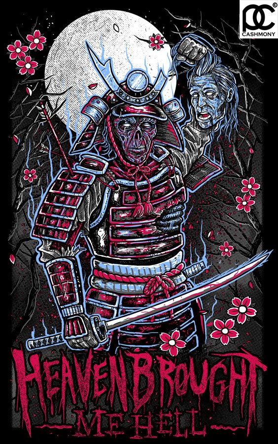 Heaven Brought Me Hell - Zombie Samurai by parin81270024