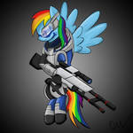 Rainbow Dash/Garrus