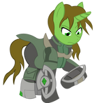 Emerald Flicker Fallout Equestria