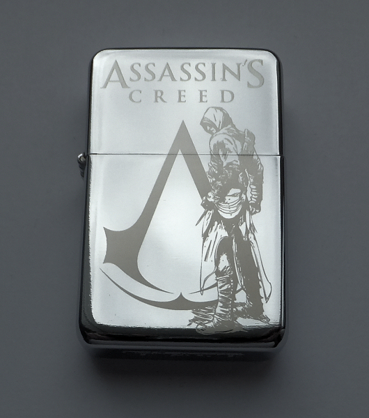 Assassin S Creed Engraved Lighter By Piciuu On Deviantart