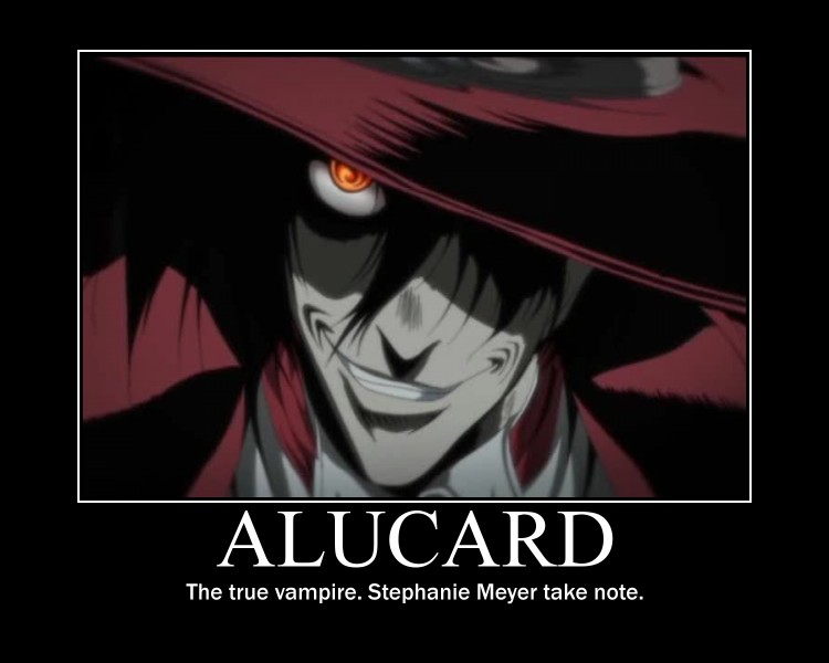 Alucard Motivator 2 by GameChibi