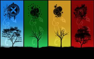Trees by quasizorz