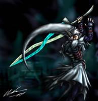 The Fierce Deity by OniChild