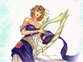 Zeldanime - Christina Dress Prize by OniChild