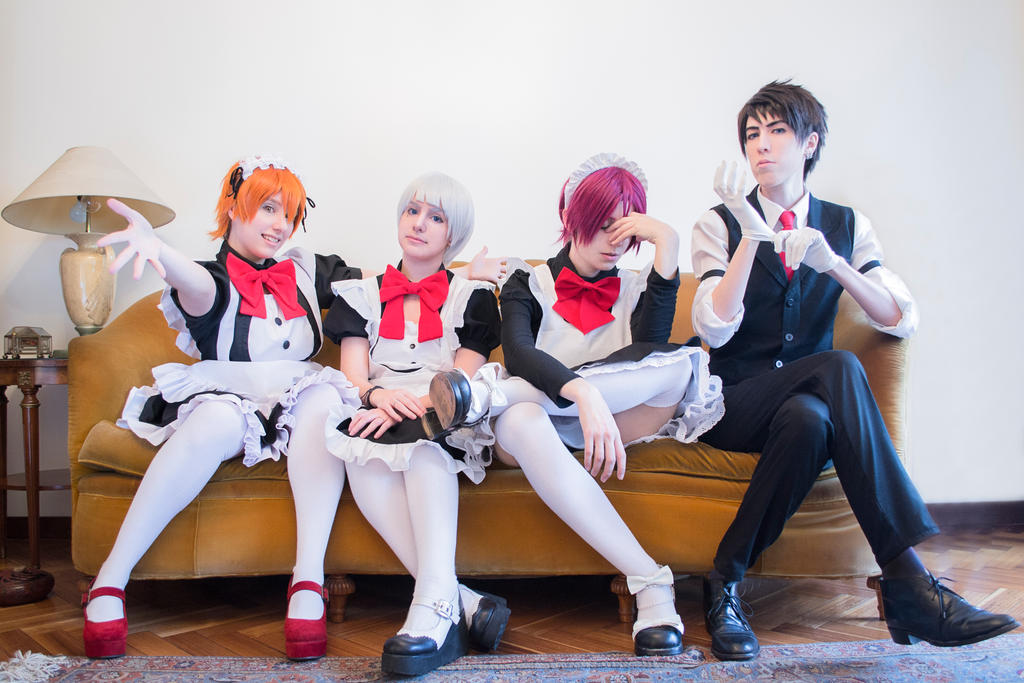 The Maids of Samezuka by Gemini-no-Saga