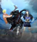 Naruto and Hinata: I did it!