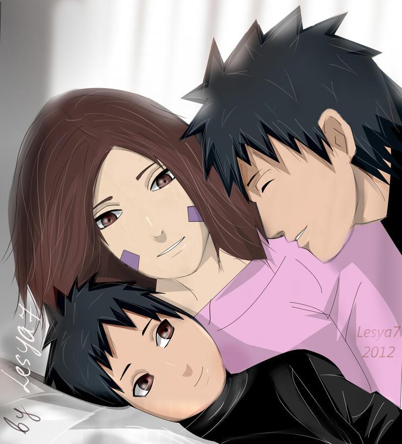 Obito and Rin: Family by Lesya7 on DeviantArt