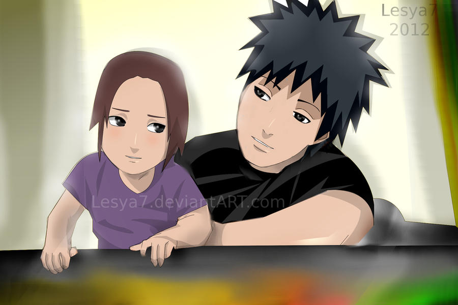 Obito x Rin's daughter - Oki by Lesya7 on DeviantArt