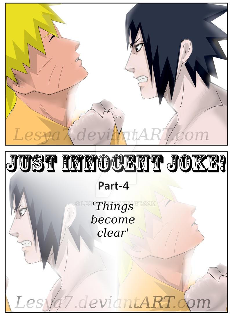 Just Innocent joke! - COVER: Part-4