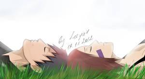 Obito x Rin: Take a rest