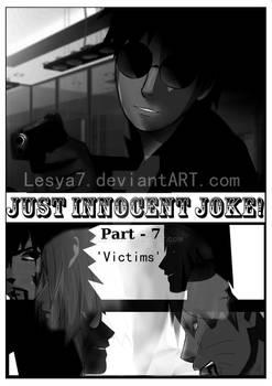 Just Innocent joke! - COVER: Part-7