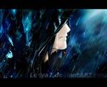 Rain hides the tears...