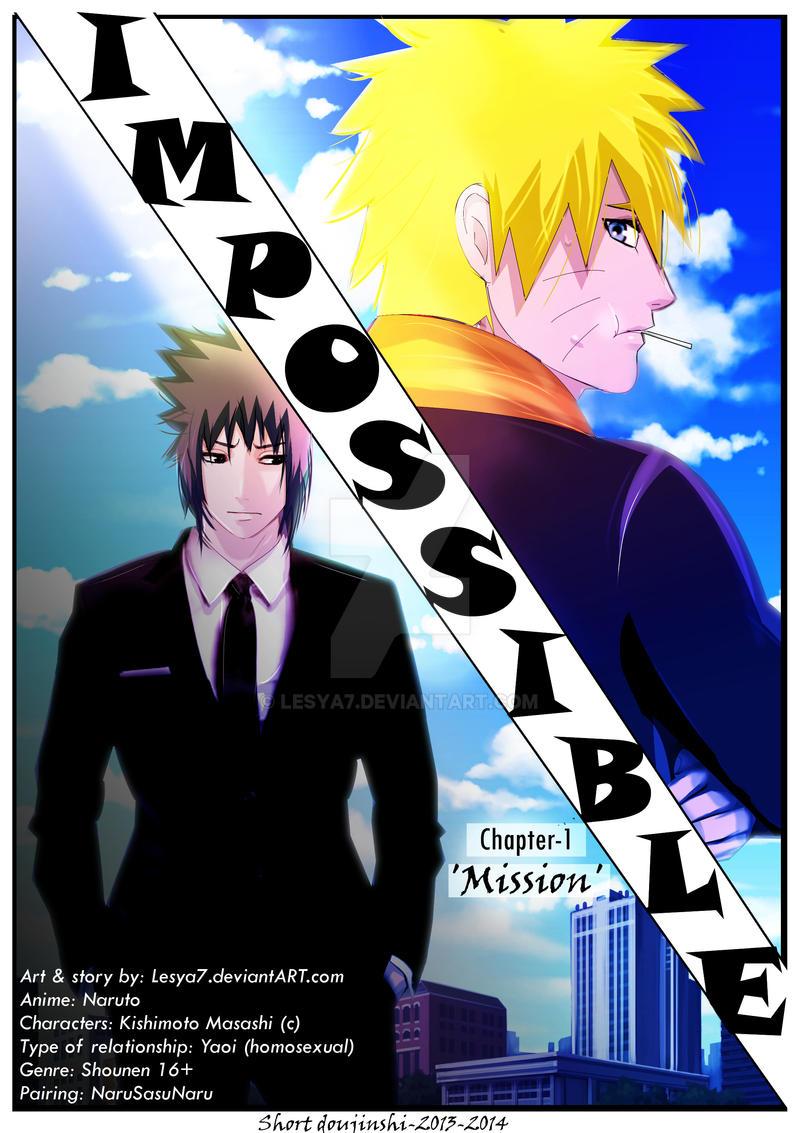 [SasuNaru] Impossible - Cover-Ch.1-Mission
