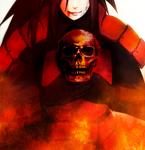Madara holding skull