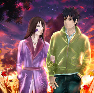 Obito x Rin - Walking together