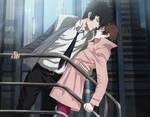 Psycho-pass: Kogami Shinya x Tsunemori Akane