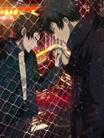 Psycho-pass: Kogami x Akane - Separated by Lesya7