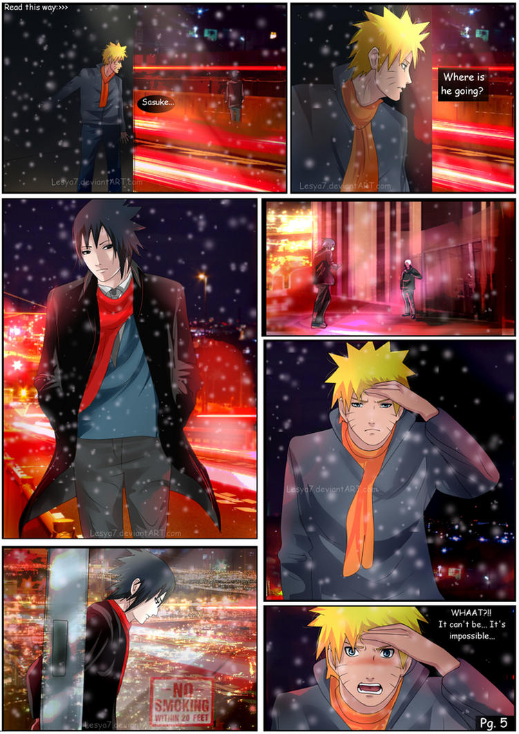 [SasuNaru] Impossible - Pg. 5 by Lesya7