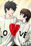 Psycho-pass: Kogami x Akane: Love hug