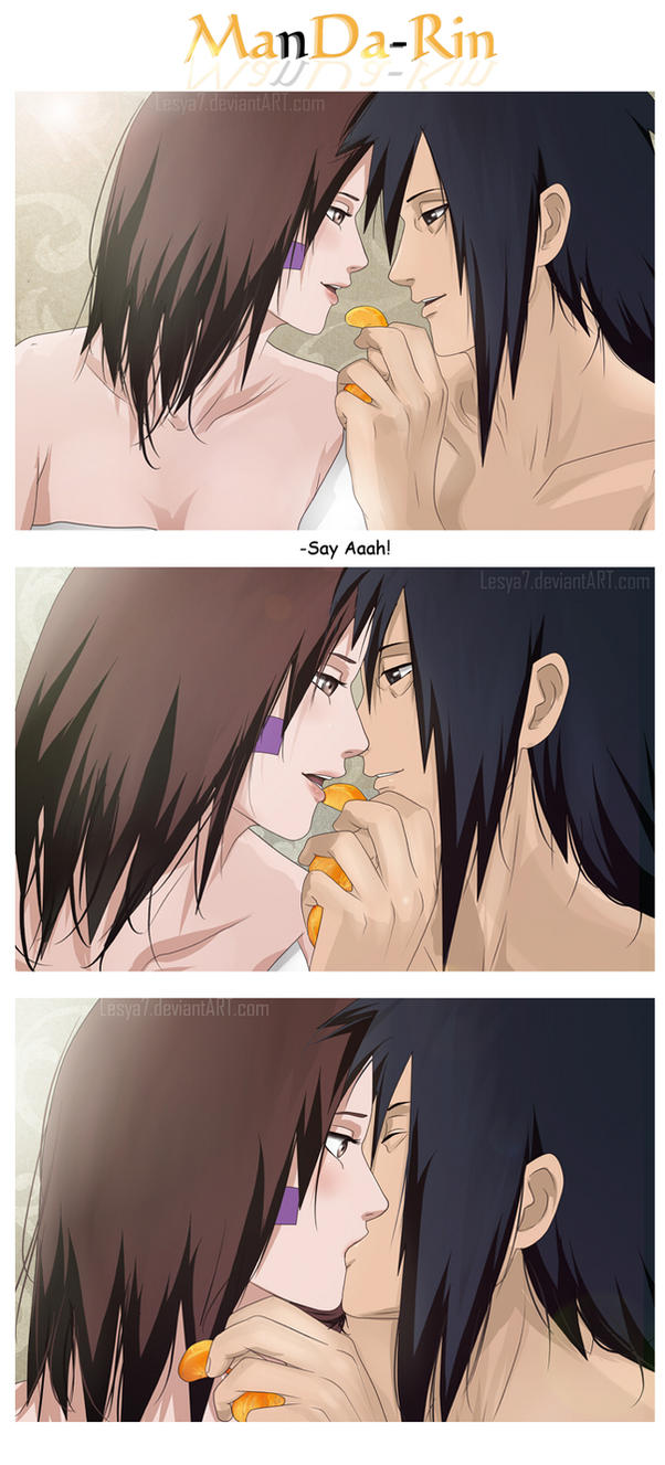 Madara x Rin: eat MandaRin by Lesya7