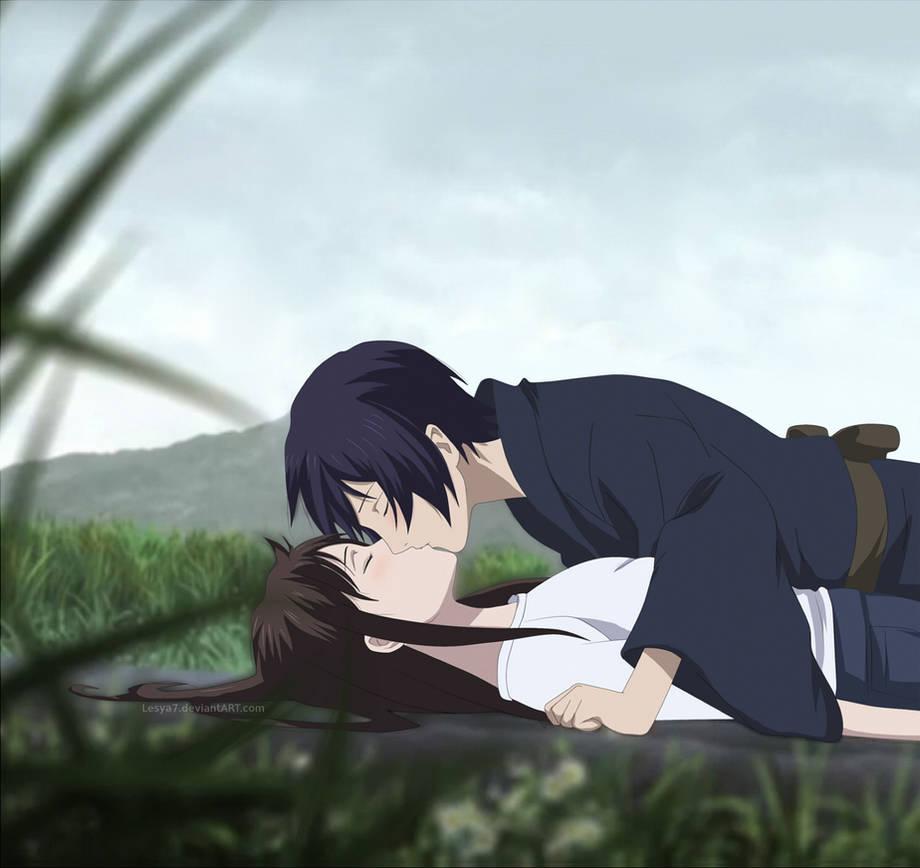 Yato And Hiyori Kiss Manga Chapter