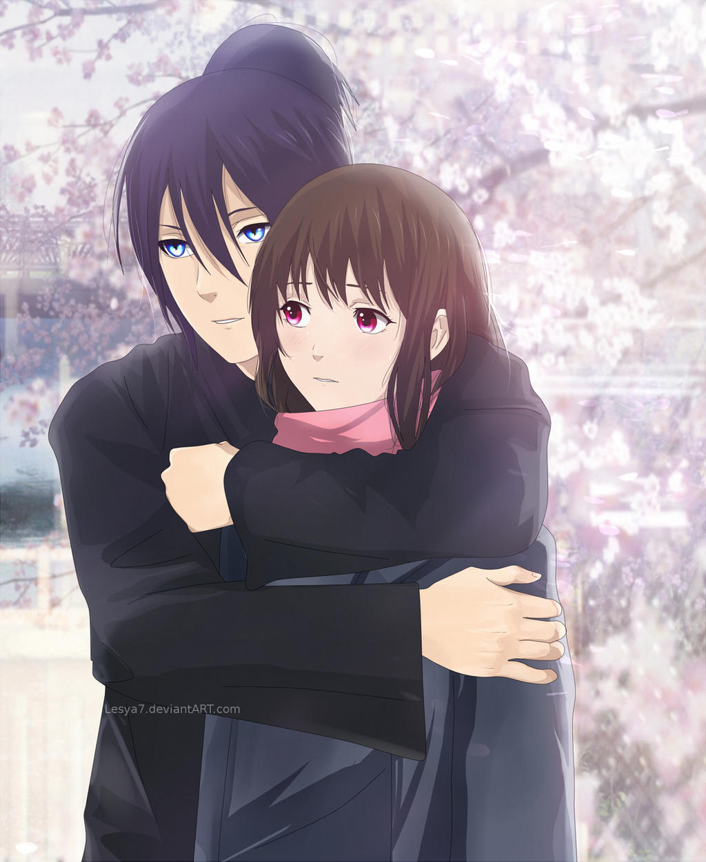 Hiyori Yato and Yukine from Noragamiampnbspmy top anime
