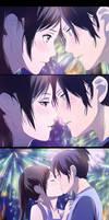 Noragami: Yato x Hiyori Kiss