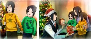 JIJ! frames from the pg.300 Izuna Sasuke Itachi