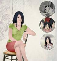 JIJ! Adult Kasumi Uchiha - Madaras daughter by Lesya7