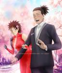 Commission4: Iruka x Grace(OC) Wedding