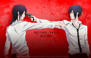 Madara Sasuke - Psycho-pass Crossover by Lesya7