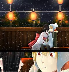 Noragami: Yukine x Nora - kiss ch74 pg 39 coloring