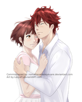 PayPal Commission: Lindo x Ritsuka by Lesya7