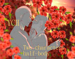 YCH - Loving couple Red Garden - CLOSED