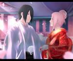 SasuSaku - Wedding