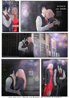 JIJ! One-shot: Sasuke x Sakura Behind the scenes