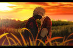-Kakashi x Nina (OC) - Unexpected kiss